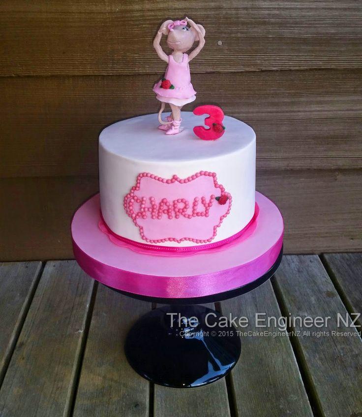 Angelina Ballerina cake :) Pink!