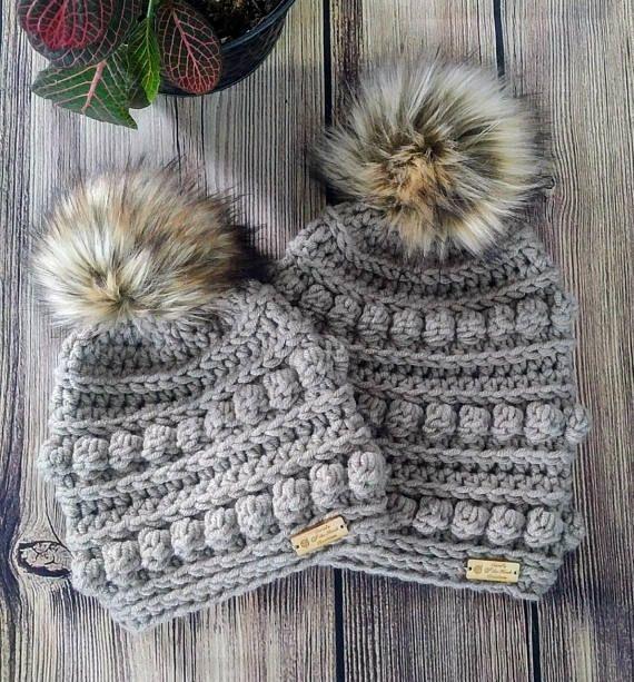 Crochet Beanie Pattern Bumpy Beanie Pattern Crochet Bumpy