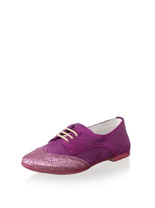 61% OFF Hoo Kid's Cheila's Oxford Boat Shoe (Dark Pink)