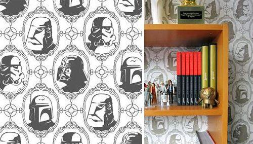 Star Wars : et maintenant, le papier-peint !