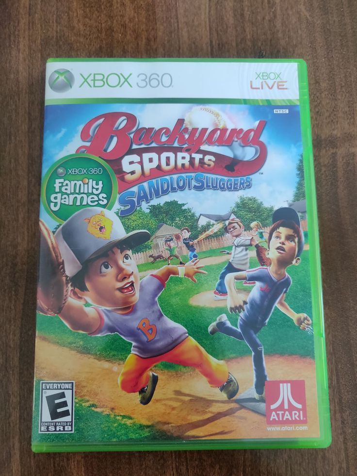 Backyard sports for the xbox 360 (With images) | Backyard ...