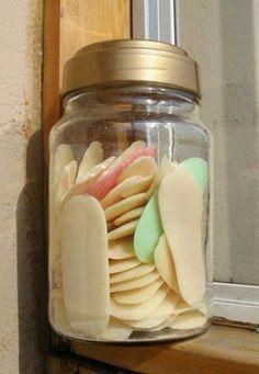 domácí tekuté mýdlo ze zbytku mýdel