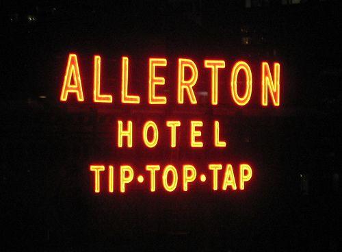 Milf at allerton tip top tap