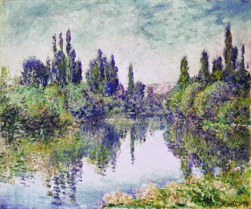 Claude Monet Morning on the Seine, near Vetheuil, 1878