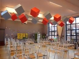 Hanging Acoustical Baffles Nice Cubes Cmc Ideas
