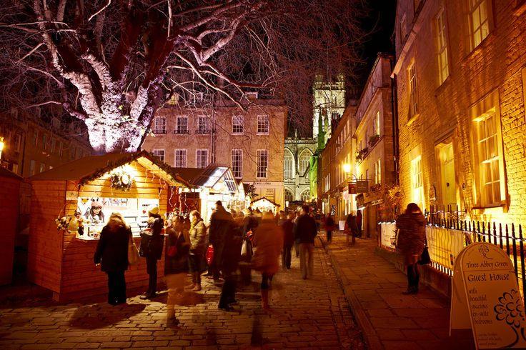 Bath Christmas Market Copyright Bath Tourism Plus / Colin Hawkins More Christmas Markets on @ebdestinations