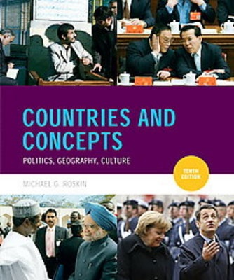 Required Text for AP Comparative Government and Politics; Countries and Concepts by Michael Roskin ISBN:9780136026532