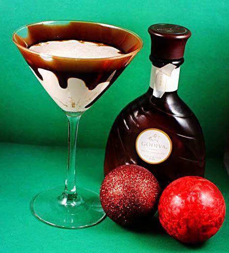 Godiva chocolate martini9