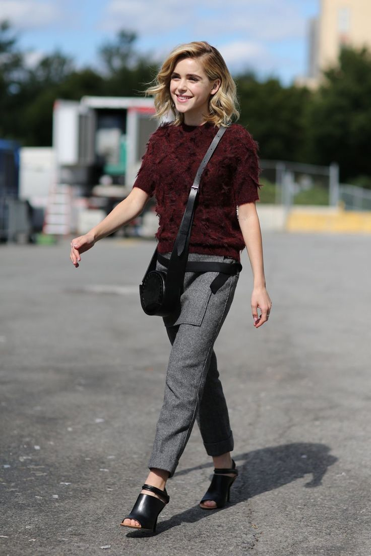 The Most Authentically Inspiring Street Style From New York #refinery29  http://www.refinery29.com/2015/09/93788/ny-fashion-week-spring-2016-street-style-pictures#slide-63  We feel fall coming on......