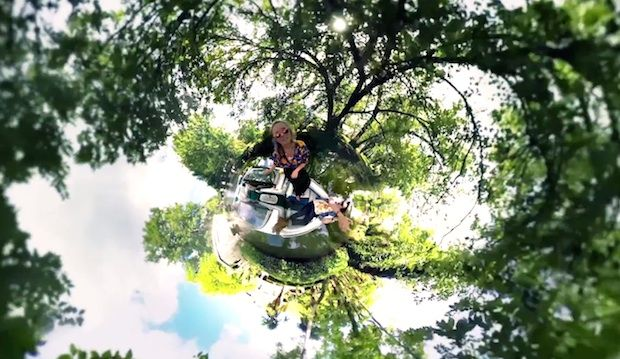 Dreamy Music Video Makes Excellent Use of 360° GoPro Rig for Psychedelic Visuals