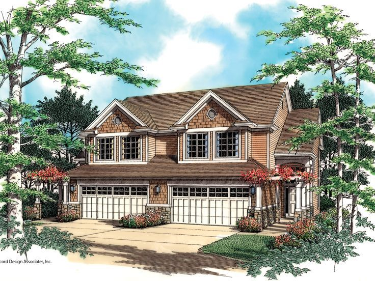 49 Best Images About Multi Family House Plans On Pinterest