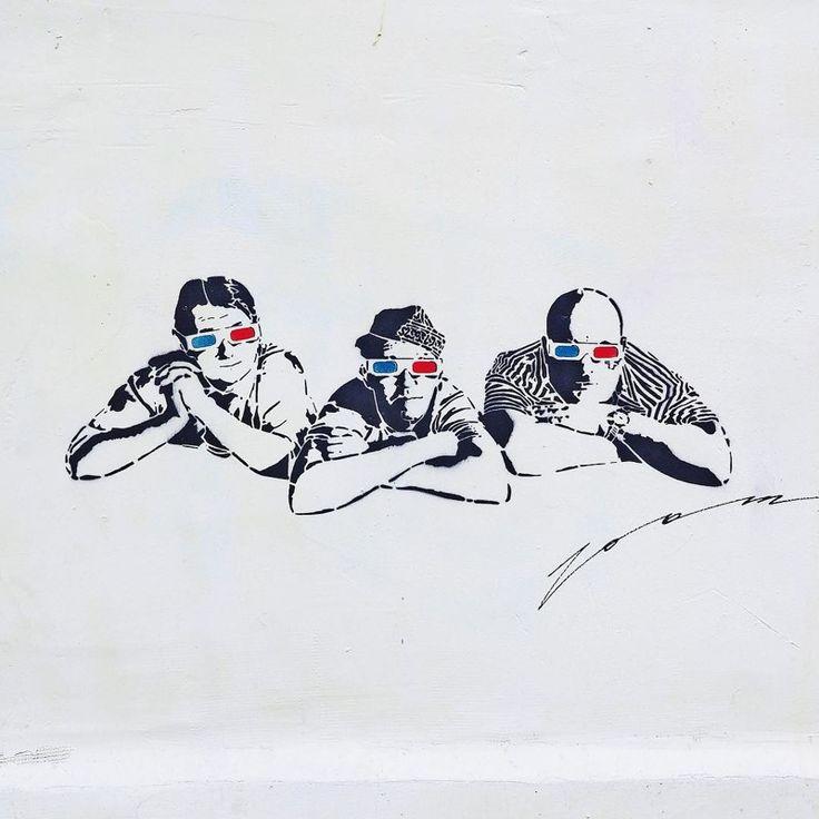 Эти ребята из Москвы делают невероятно крутой стрит-арт (14фото)