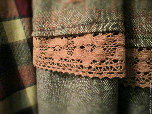 Юбки ручной работы. Тёплая юбка из твида. Mirka. Интернет-магазин Ярмарка Мастеров. Цветочный, теплая юбка, 31% шерсть