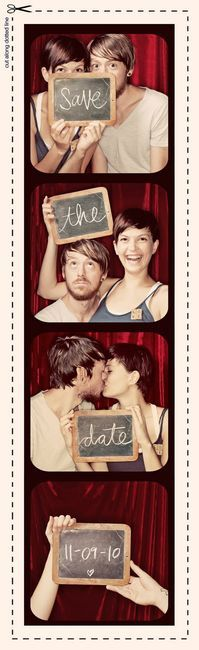 Creative Wedding Announcement: Save The Date, Booths Ideas, Dates, So Cute, Cute Ideas, Wedding, Photobooth, Date Ideas, Photo Booths