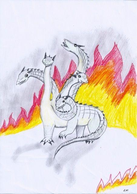 Entry 13: 'Hydra' by Kyla, age 11