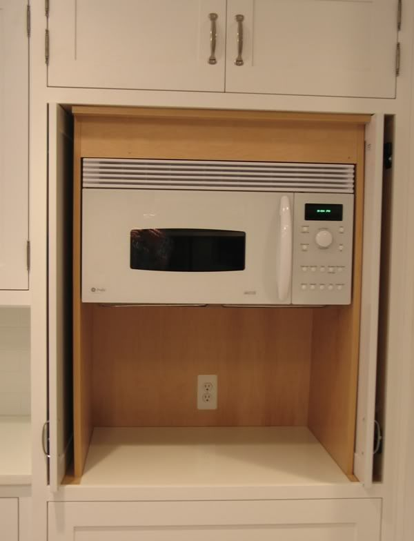 1000 Ideas About Over The Counter Microwave On Pinterest Built In Microwave Kitchen Cabinets