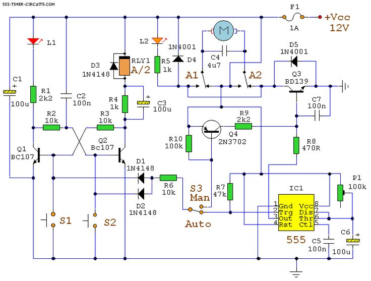 17 best images about schematics circuit diagram automatic curtain closer circuit 555 timer circuits