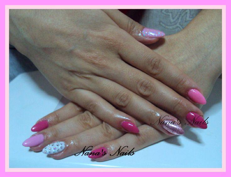 Almond Gel Nails
