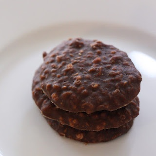 No Bake Cookies with whole food ingredients (honey, cocoa, coconut oil, PB, vanilla, coconut, quinoa - optional) Sugar/Dairy/Gluten Free