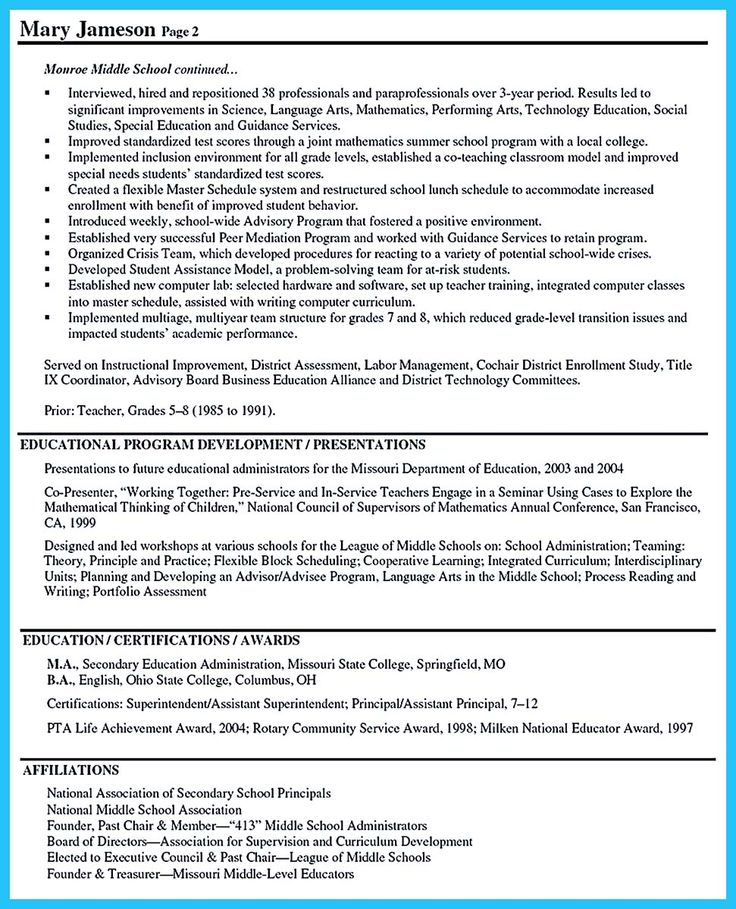 1000 ideas about sle of resume on resume