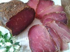 Lomo de cerdo curado - Lomo embuchado - Bondiola - Lomo crudo de cerdo   Cocina