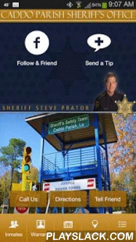 Caddo Parish Sheriff's Office  Android App - playslack.com ,  The Caddo Parish Sheriff's Office (CPSO) proudly serves the residents of Caddo Parish, Louisiana. We have facilities throughout the Parish including the Caddo Correctional Center, Marine Patrol, North and South Substations, the Training Academy and Sheriff's Safety Town for children's safety education.Our new mobile App is completely free and allows you to connect to CPSO alerts, messages, services, and support. Please let us know…