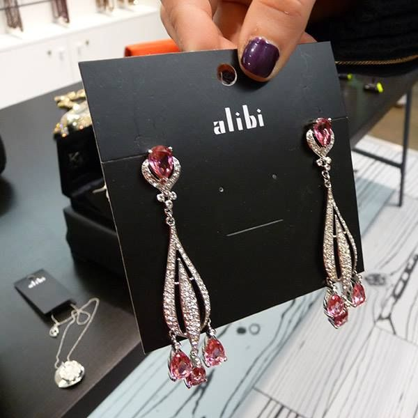 We have plenty of styles available for earrings, there's sure to be one to suit you. #alibi #jewellery #earrings