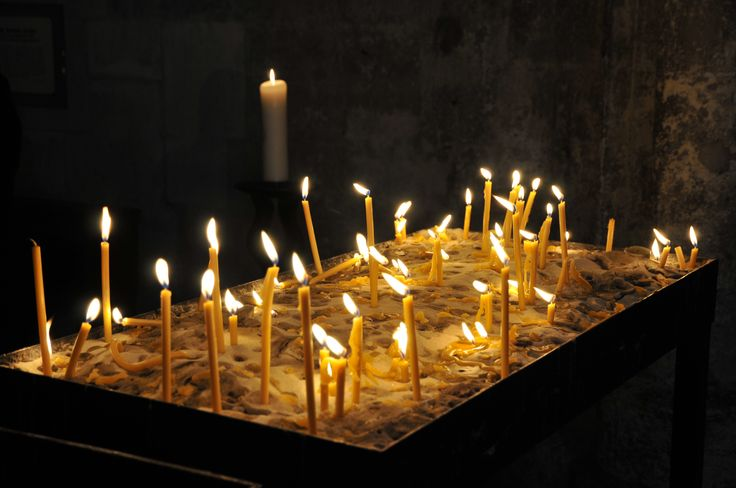 Candles in Stephansdom