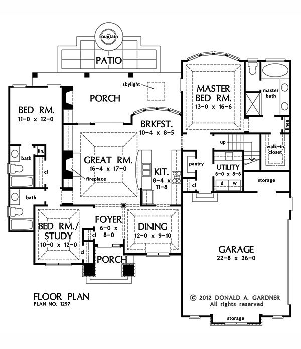 234 best Small Home Plans images on Pinterest | Small house plans ...