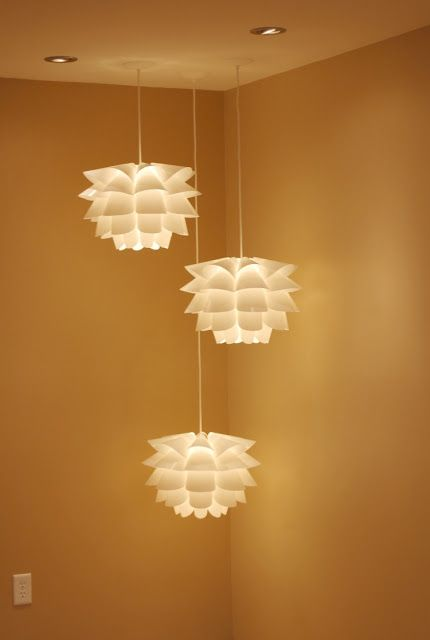 The 25 best ikea flower light ideas on pinterest ikea lamp ikea hackers knappa floating flowers arrangement from swing lamp to pendant light i have this lamp and have been wanting to do this to it ever since i mozeypictures Gallery