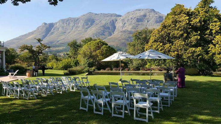 Wedding at Dornier Wine Estate in Stellenbosch