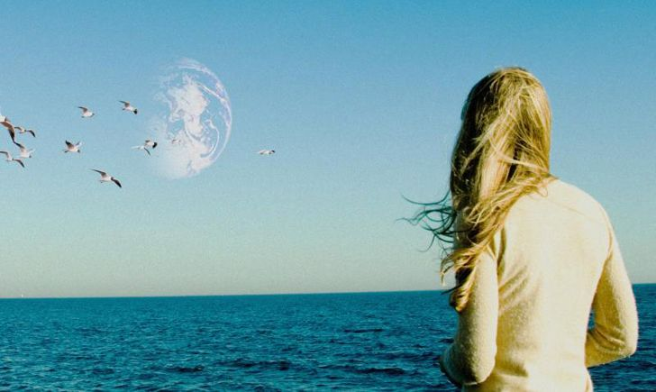 """[If] there's another [me] out there... Has the other me made the same mistakes I've made? And is that me better than this me?"" Thought-provoking. #AnotherEarth"