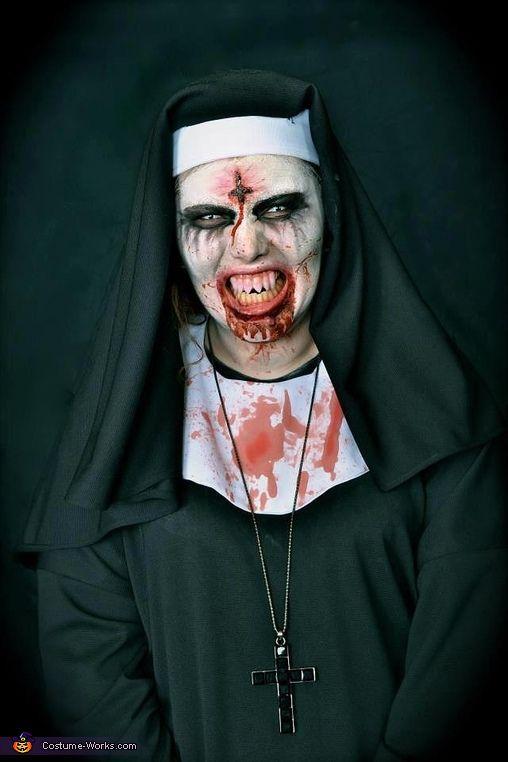 The Possessed Nun - Halloween Costume Contest via @costume_works
