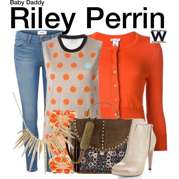 Inspired by Chelsea Kane as Riley Perrin on Baby Daddy.