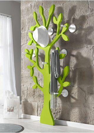 vrolijke muurdecoractie+ kapstok!