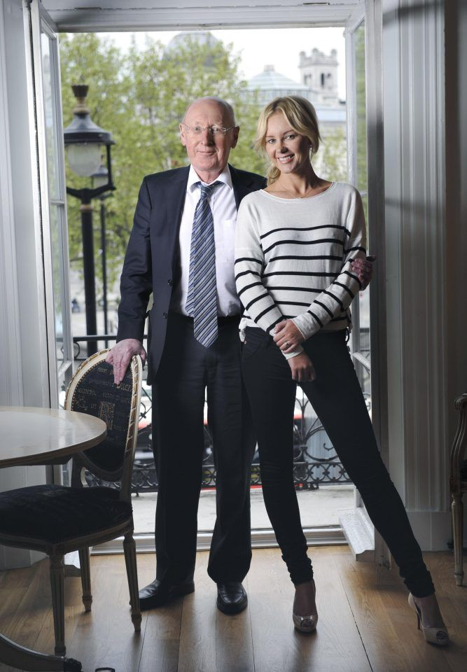 Clive filed for divorce during a long spell in hospitalThe 76-year-old, famed for inventing the C5 and pocket calculator, split with the former Miss England and Stringfellows lapdancer, who is 36 years his junior, last year.