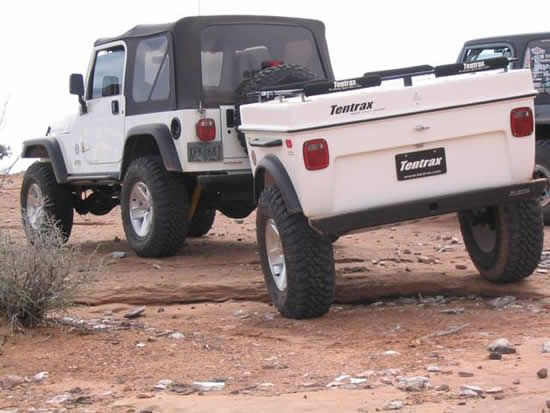 Jeep Wrangler Off Road Camper Trailers And Jeep 4x4
