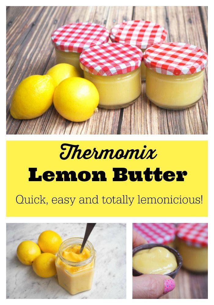 When life gives you lemons, make lemon butter. 11 minutes - start to finish!