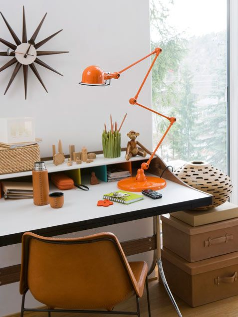 Check out these pictures in our home office designs gallery to gather fresh decorating ideas for your new business space at home. We've g...