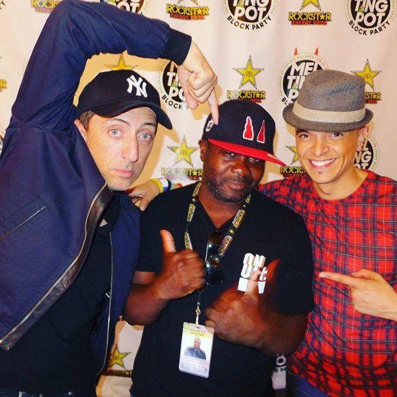 Gad Elmaleh fait le party avec Rachid Badouri et Win Butler | HollywoodPQ.com