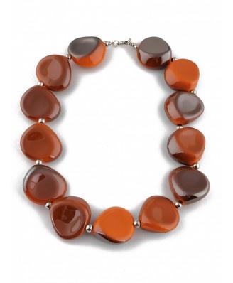 Naszyjnik Model 54D852401 Brown - Biżuteria - Dodatki - 2012 - TrendCity.pl