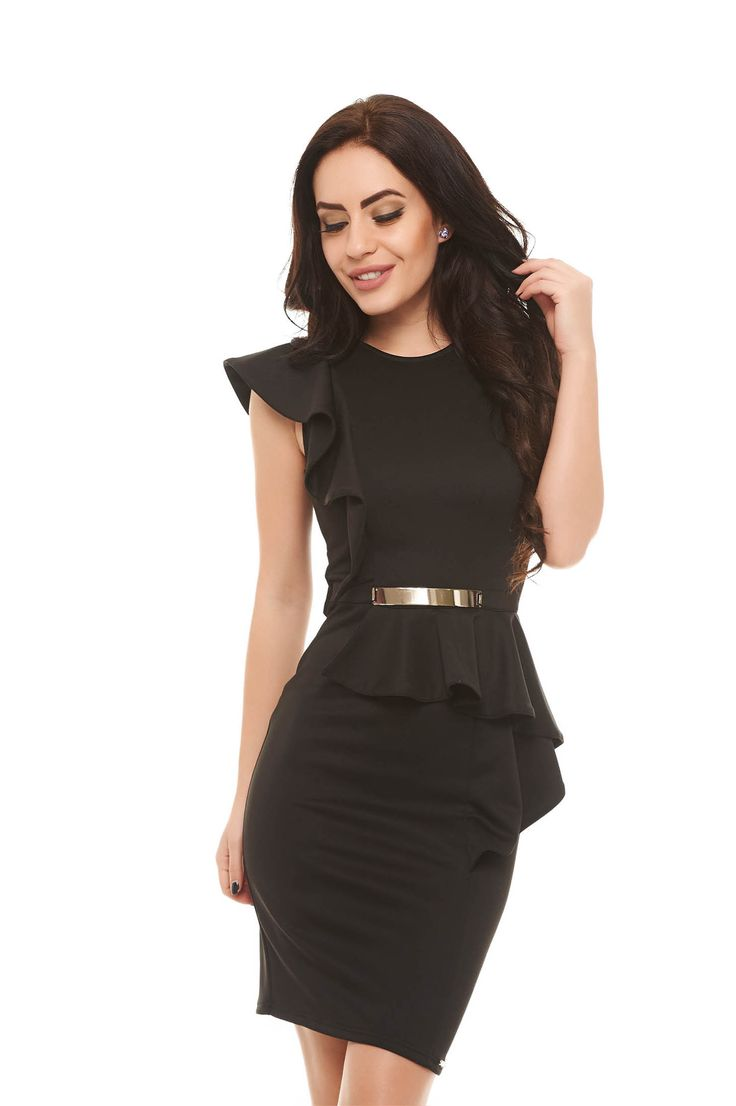 MissQ Hot News Black Dress