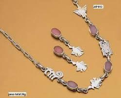 Resultado de imagen para joyeria cuarzo rosado