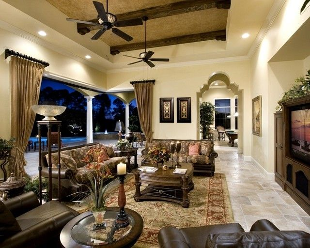 30 Amazing Mediterranean Living Design