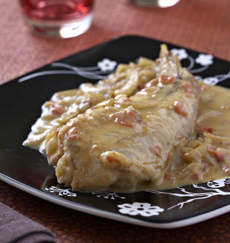 Queue de lotte au curry, la recette d'Ôdélices : retrouvez les ingrédients, la préparation, des recettes similaires et des photos qui donnent envie !