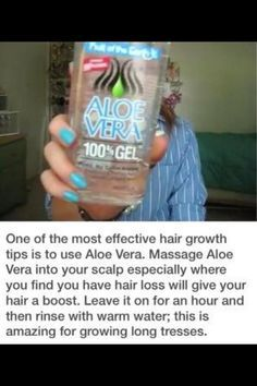 How to make your hair grow faster!
