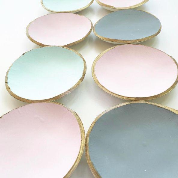 Maypole Design Clay Bowls