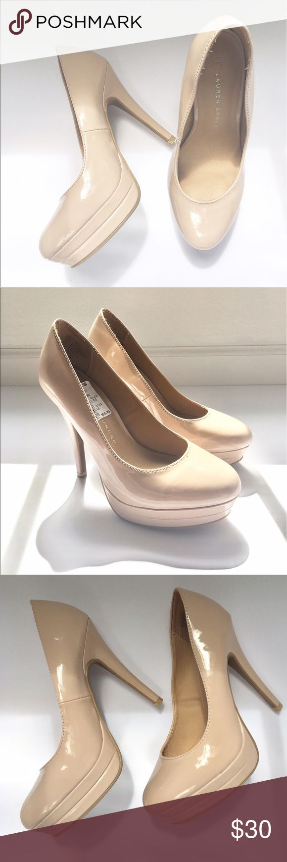 Nude Heels🤘🏼 very classic, sleek nude heels from Kohl's by Lauren Conrad.. never been worn before😍 got as a gift, do not fit me as I am a size 7! Hope one you lovely ladies fall in love with them❤️ comment below with questions or offers... thank you for stopping by my closet!!! LC Lauren Conrad Shoes Heels