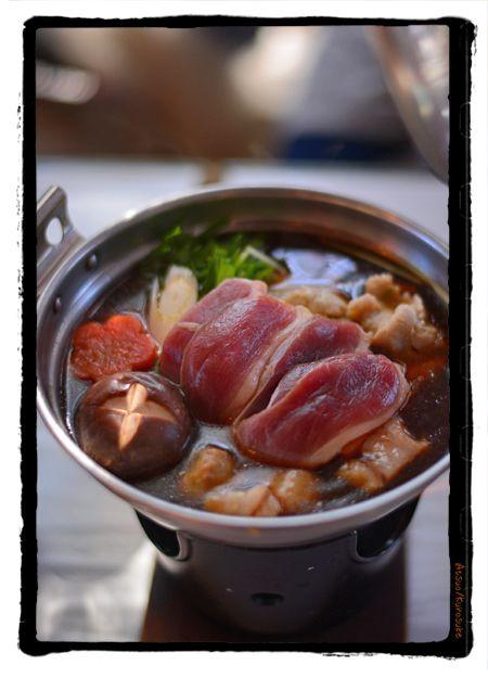 深大寺 湧水 鴨鍋  kurosuke ishigaki