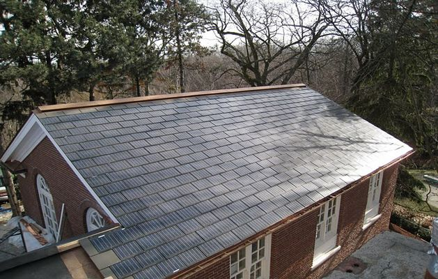 Sunslates - Solar Shingles!  Looks much better than solar panels while still being awesome
